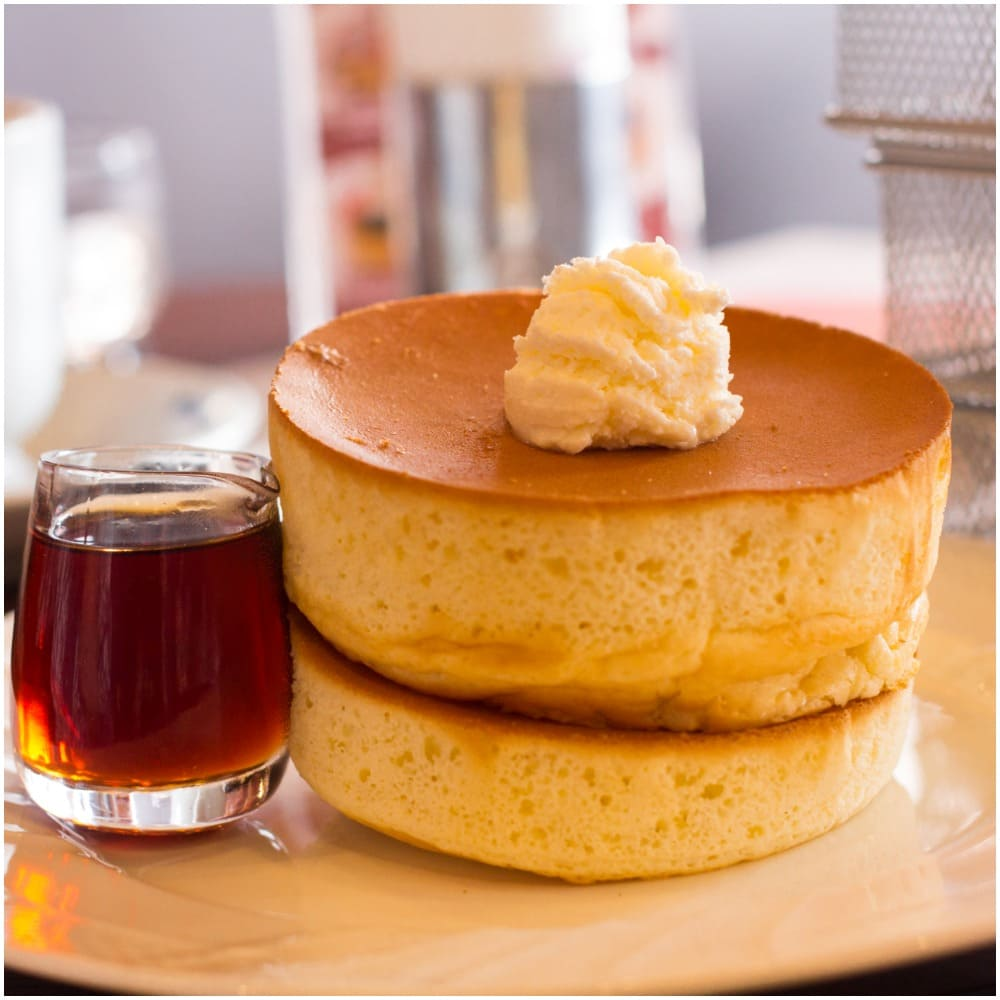 Fluffy Japanese Pancakes Recipe